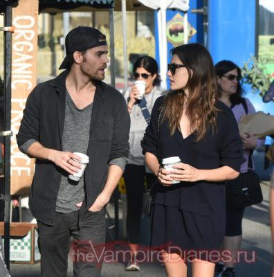 Пол и Фиби в Лос-Анджелесе [19 марта]