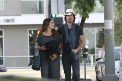 Йен и Никки Рид в Лос-Анджелесе [5 июня]