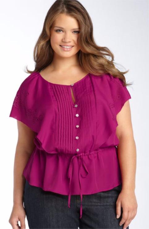 Красивые Блузки Для Полных Женщин Фото