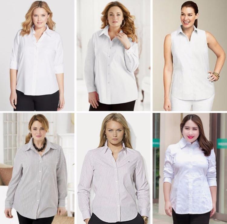 Белые Блузки Для Полных Женщин В Спб