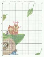 Схема вышивки «Совы Инги Пальцер» - Вышивка крестом 60