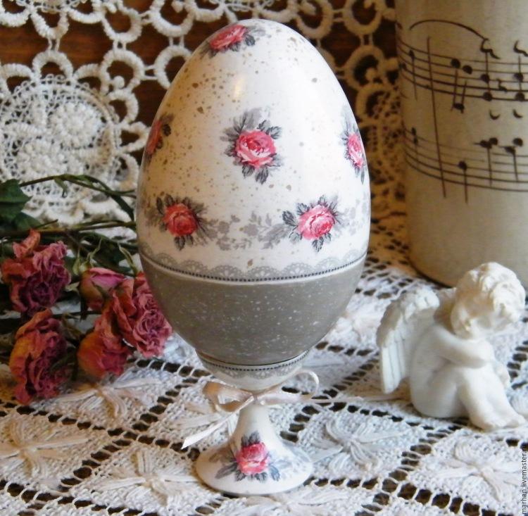 Декупаж яиц к Пасхе мастер-класс (фото и видео)