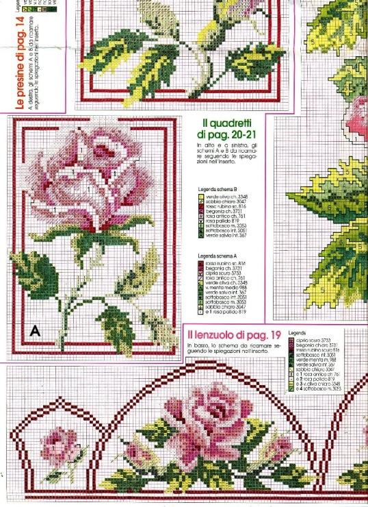 Схемы вышивок журнал сюзанна 96