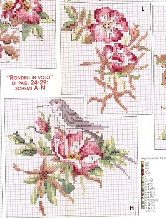 Схемы вышивка крестом шторы 61
