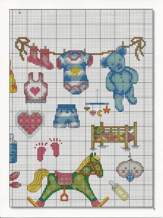 Авторские схемы вышиваю крестиком