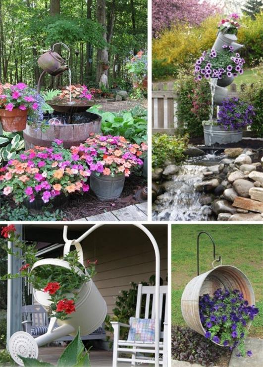 Как своими руками и подручными средствами украсить двор